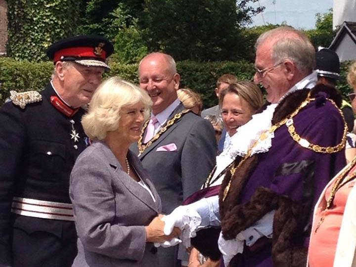 duchess of cornwall visits usk