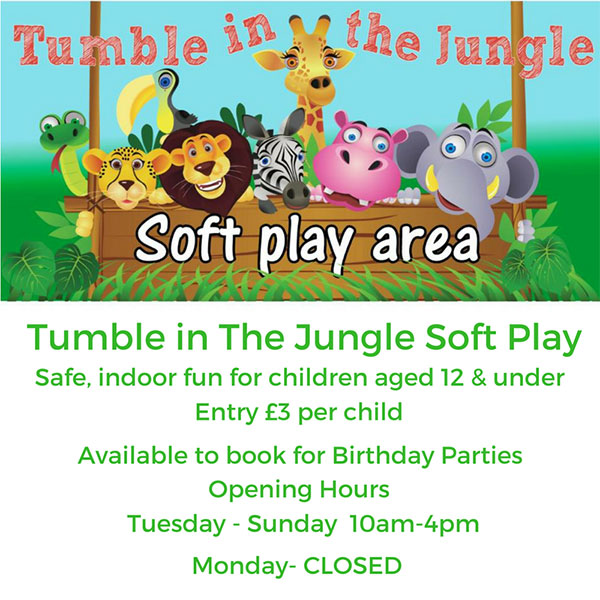 tumble in the jungle poster
